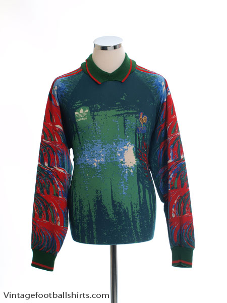 1992-93 France Goalkeeper Shirt L