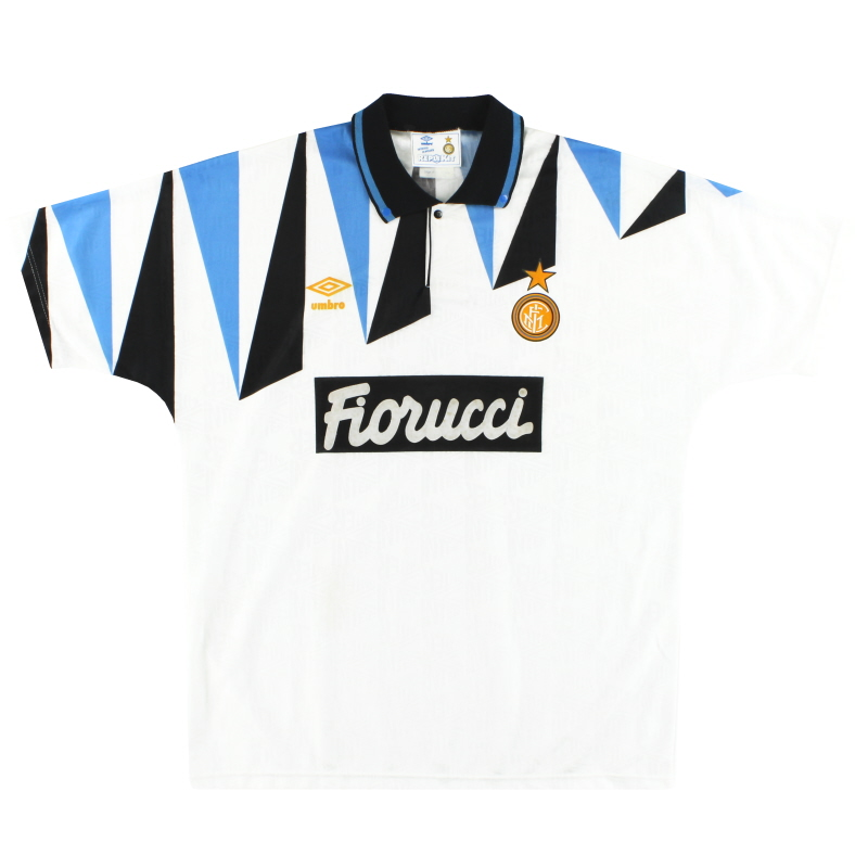 1992-93 Inter Milan Umbro Away Shirt L