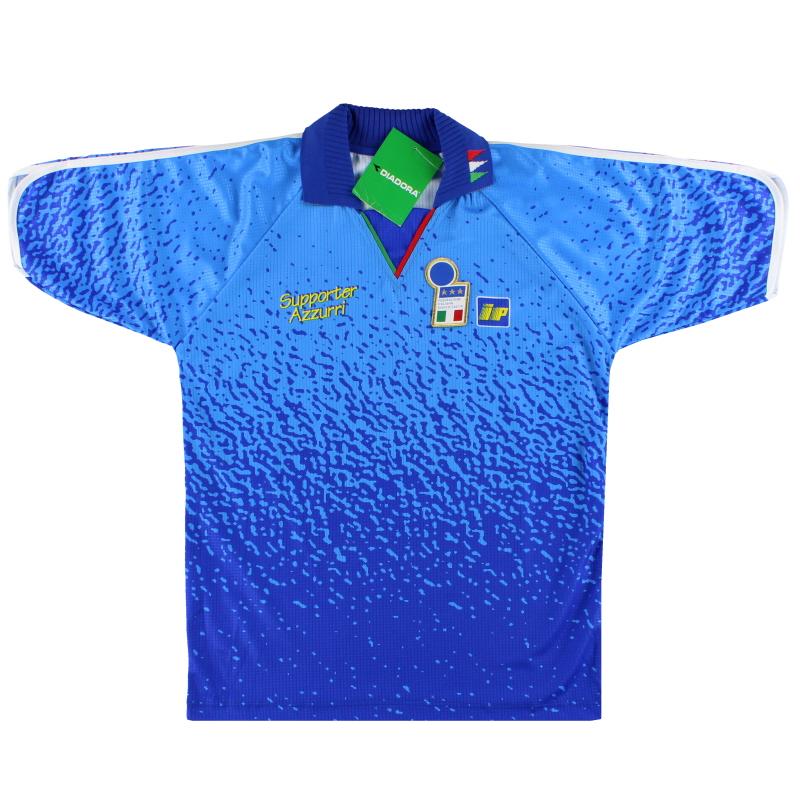 1992-93 Italy Diadora T-Shirt *w/tags* M - 113617