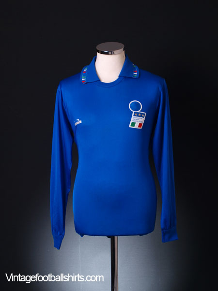 1992-93 Italy Home Shirt L/S S