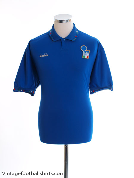 1992-93 Italy Home Shirt L - 100077