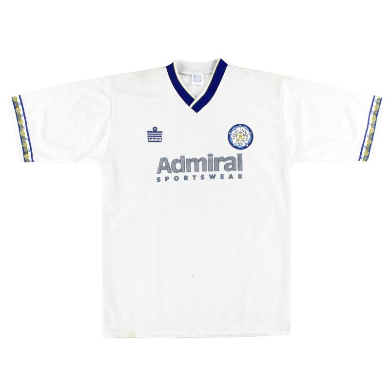 1992-93 Leeds Admiral Home Shirt M