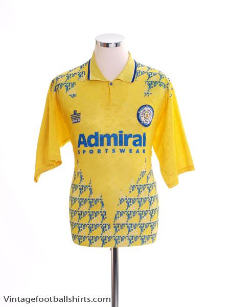 1992-93 Leeds Third Shirt L