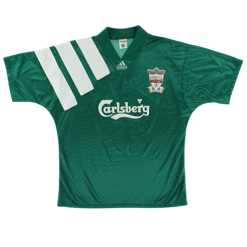 1992-93 Liverpool adidas Centenary Away Shirt M/L - 300920