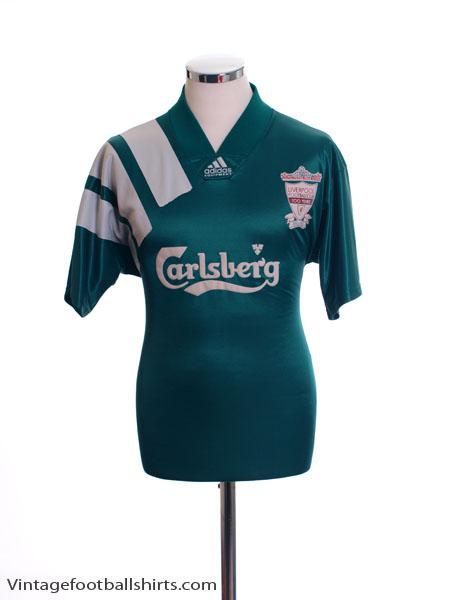 1992-93 Liverpool Centenary Away Shirt M