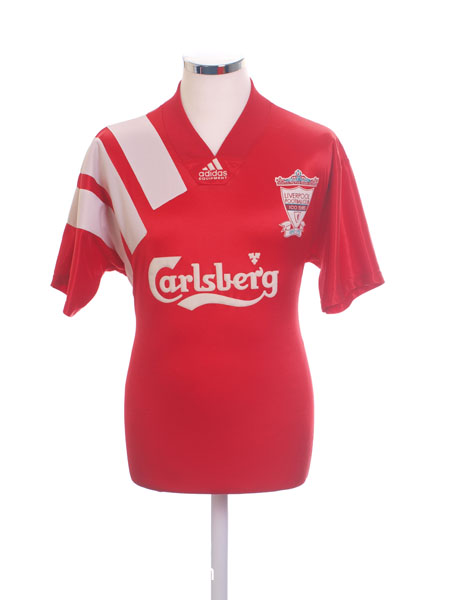 b2a635c7c 1992-93 Liverpool Centenary Home Shirt L for sale