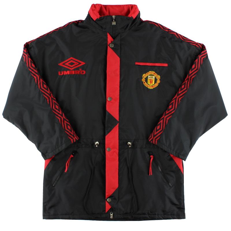 1992-93 Manchester United Umbro Bench Coat L