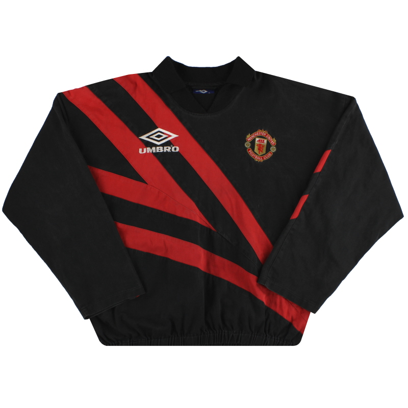 1992-93 Manchester United Umbro Drill Top XL