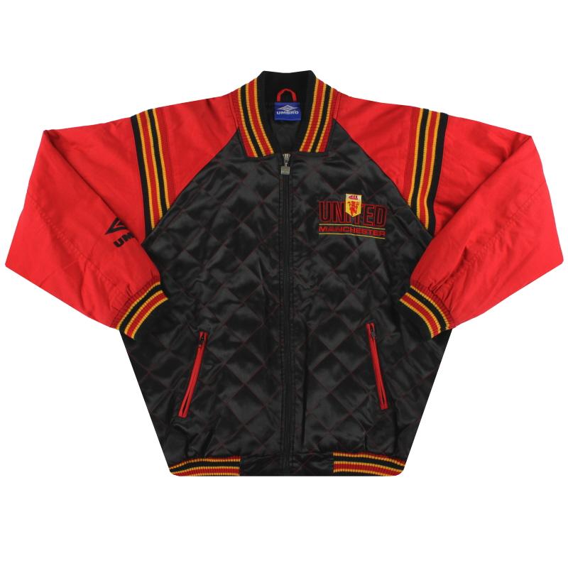 1992-93 Manchester United Umbro Bomber Jacket M