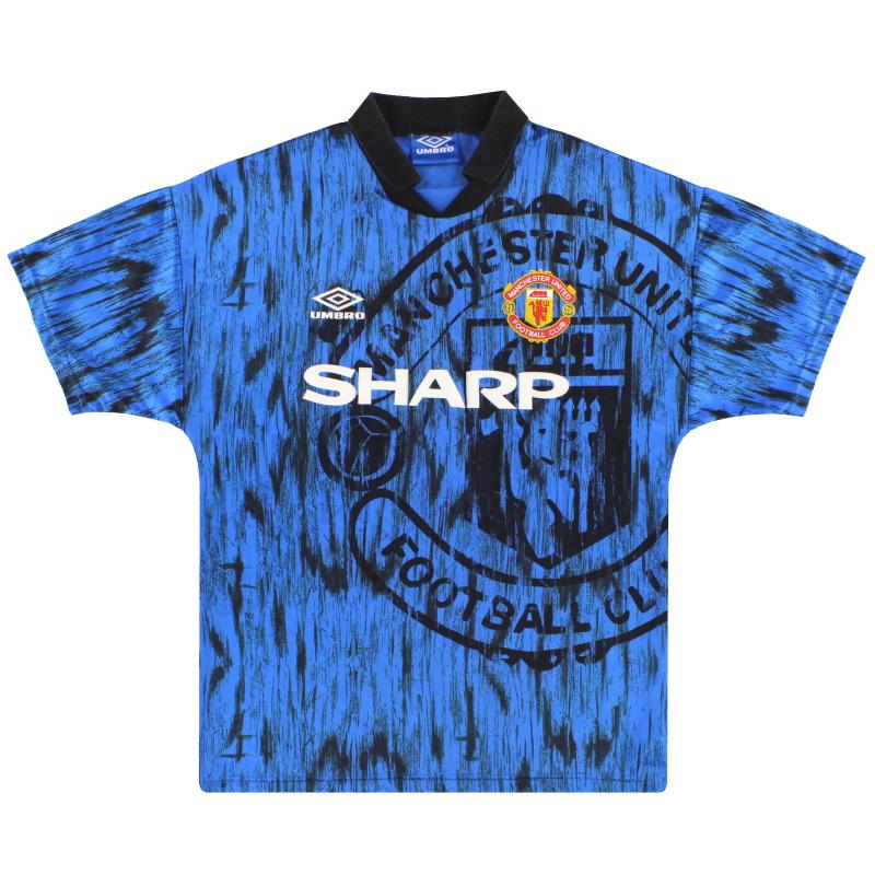 1992-93 Manchester United Umbro Away Shirt M