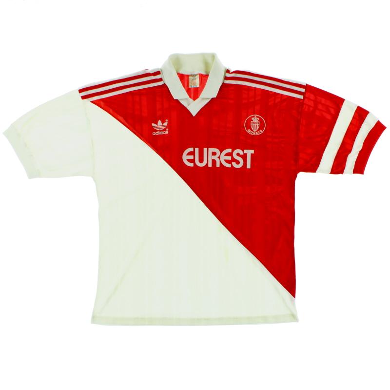 1992-93 Monaco Home Shirt L