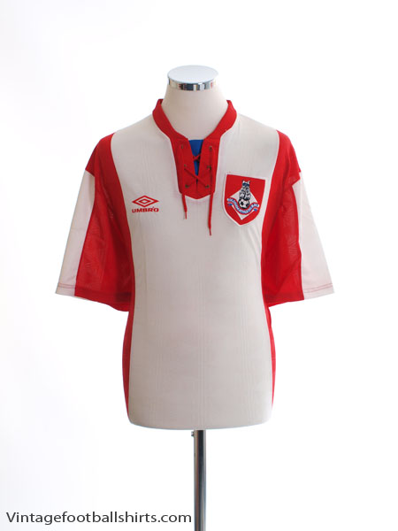 1992-93 Oldham Away Shirt L