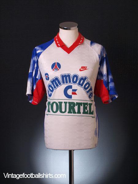 1992-93 Paris Saint-Germain Away Shirt L for sale