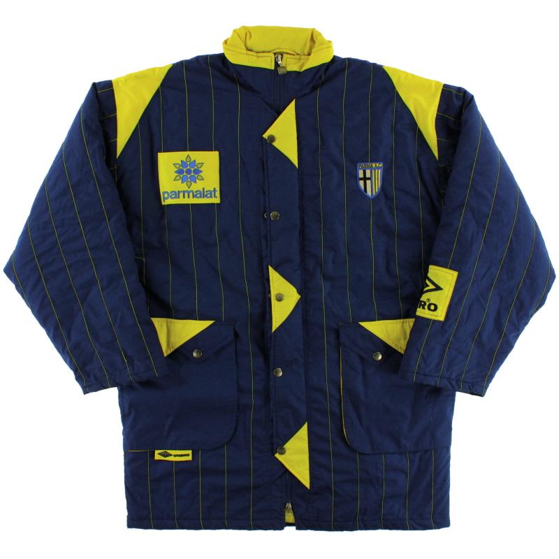 1992-93 Parma Umbro Thick Jacket XL