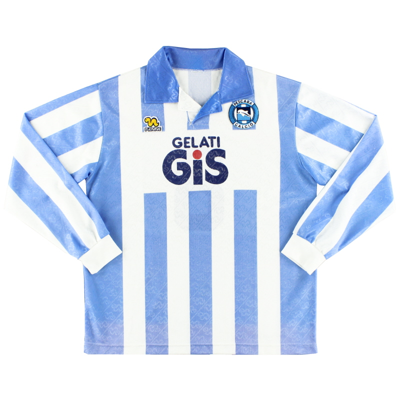 1992-93 Pescara Home Shirt #8 L/S XL