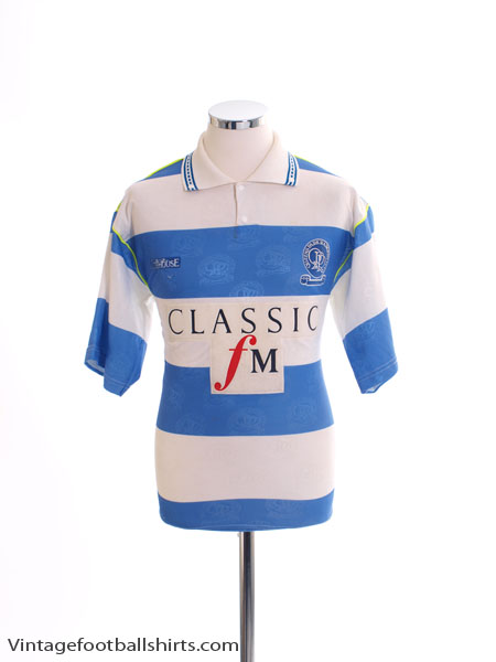 low priced 830d7 4333c 1992-93 QPR Home Shirt S for sale