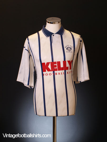 1992-93 Rhyl 'Welsh Cup Final' Home Shirt L
