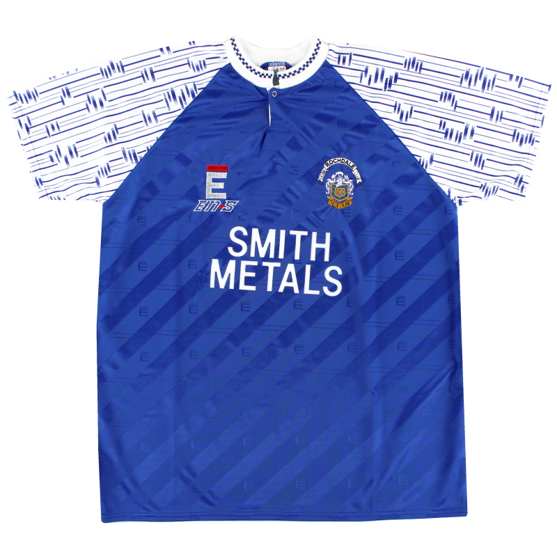 1992-93 Rochdale Home Shirt *As New* XL