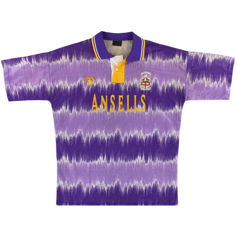 1992-93 Stoke City Away Shirt L