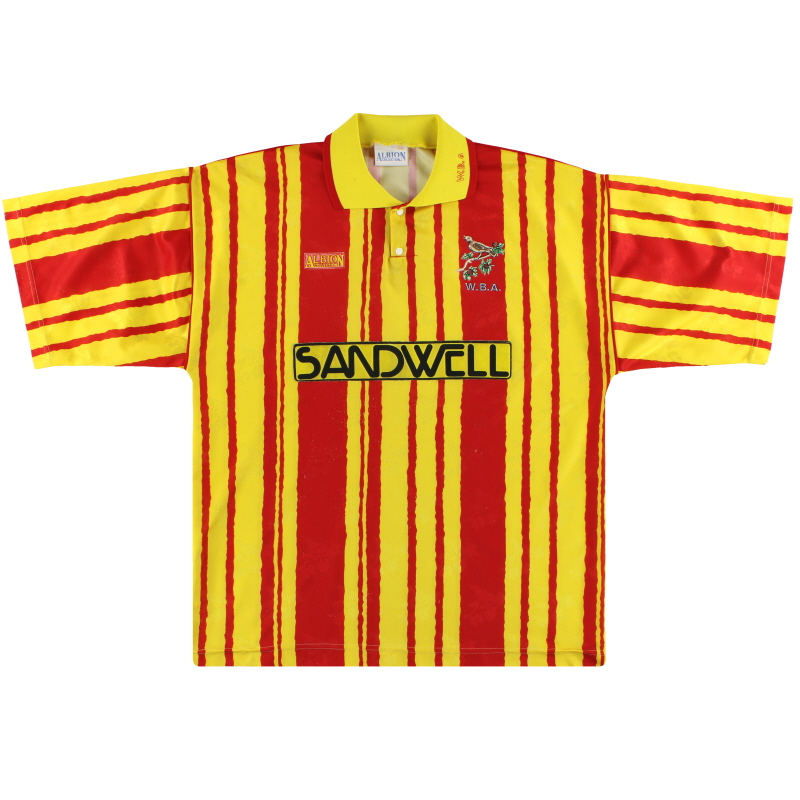 1992-93 West Brom Away Shirt L