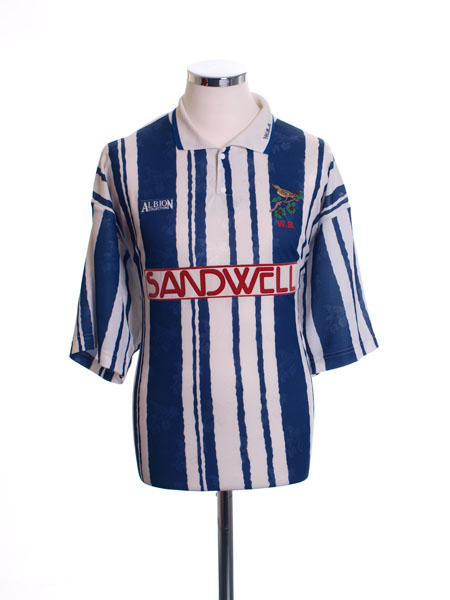 1992-93 West Brom Home Shirt L
