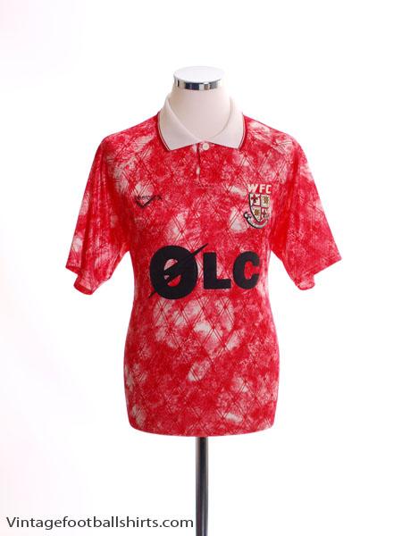 1992-93 Woking Home Shirt M