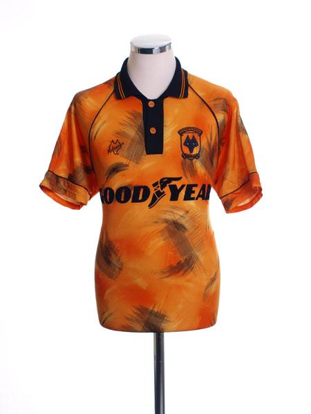 1992-93 Wolves Home Shirt XXL