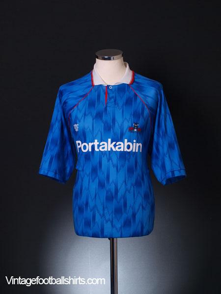 1992-93 York City Away Shirt M