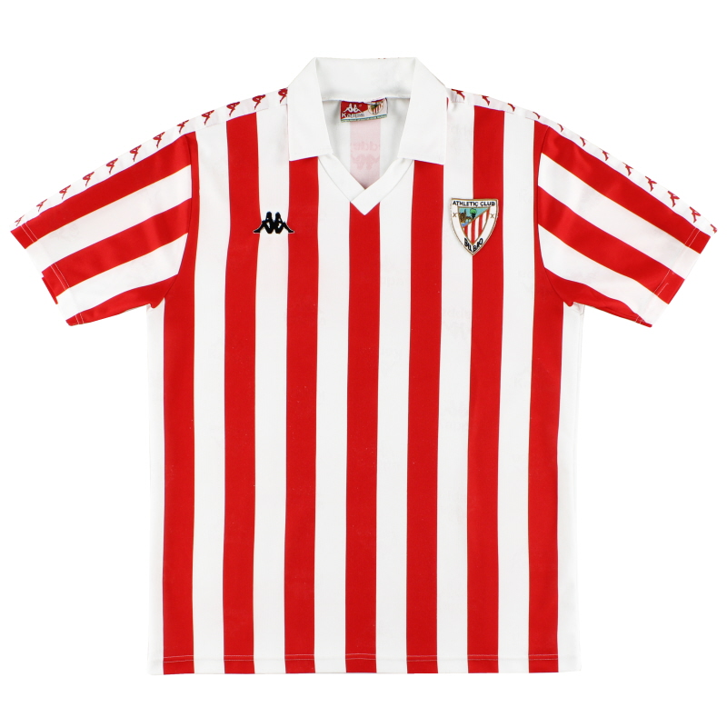 1992-94 Athletic Bilbao Home Shirt L