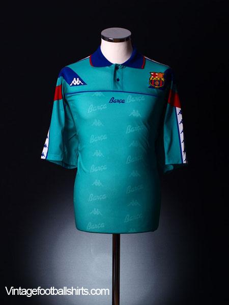 1992-95 Barcelona Away Shirt L for sale