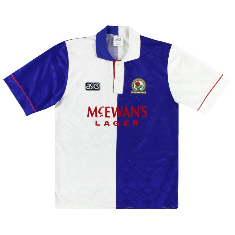 1992-94 Blackburn Asics Home Shirt M