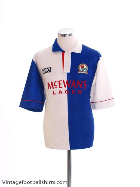1992-94 Blackburn Home Shirt L