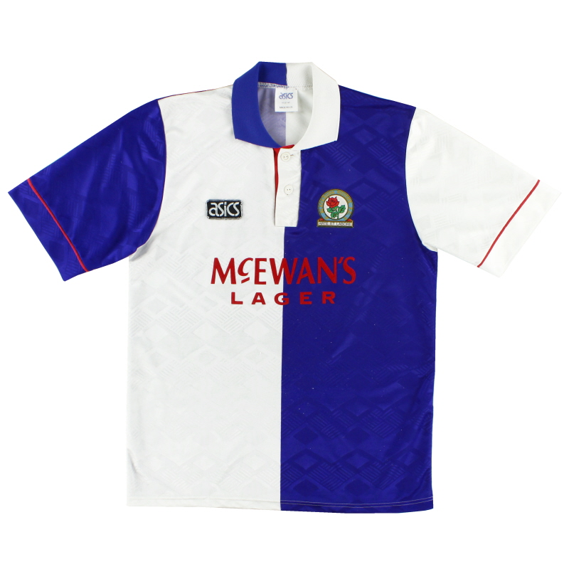 1992-94 Blackburn Home Shirt M