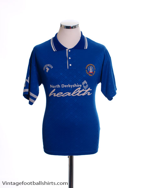 1992-94 Chesterfield Home Shirt S