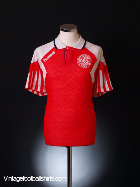 1992-94 Denmark Home Shirt XL