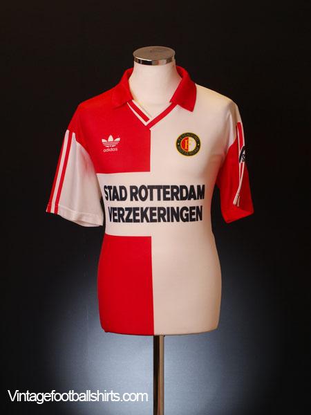 1992-94 Feyenoord Home Shirt M