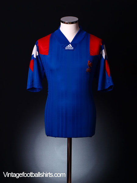 1992-94 France Home Shirt S