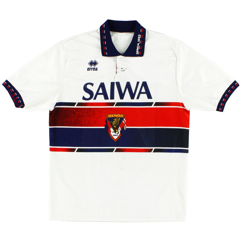 1992-94 Genoa Away Shirt L