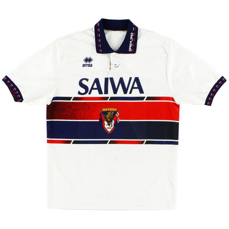 1992-94 Genoa Errea Away Shirt L