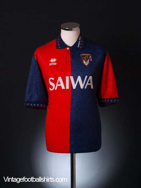 1992-94 Genoa Home Shirt XL