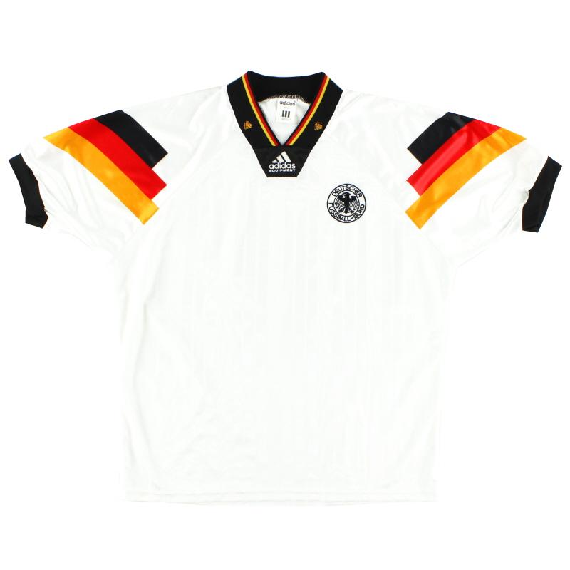 1992-94 Germany adidas Home Shirt M