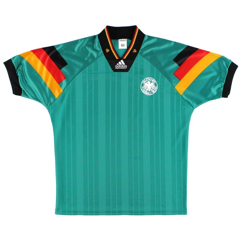1992-94 Germany adidas Away Shirt *Mint* L