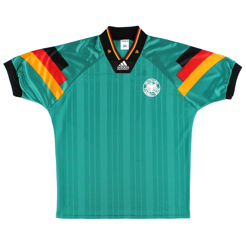1992-94 Germany adidas Away Shirt *Mint* M/L
