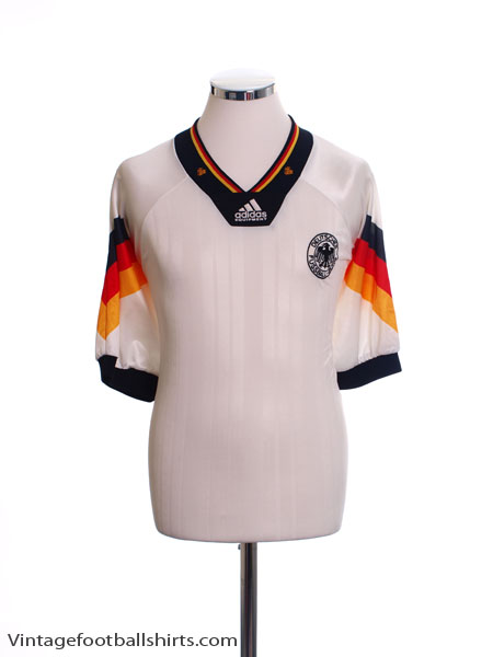 1992-94 Germany Home Shirt M