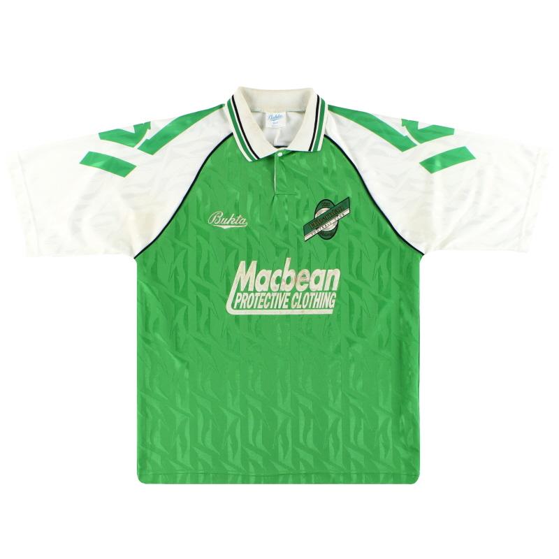 1992-94 Hibernian Bukta Home Shirt M