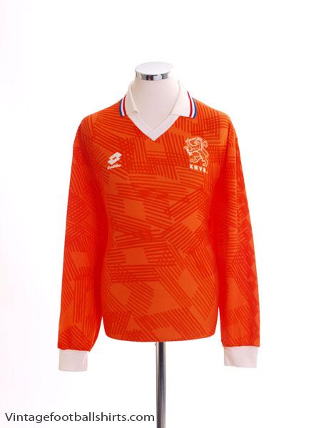 1992-94 Holland Home Shirt L/S XL