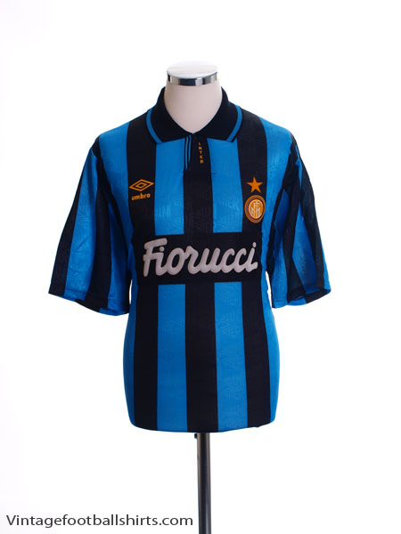 1992-94 Inter Milan Home Shirt *As New* XL