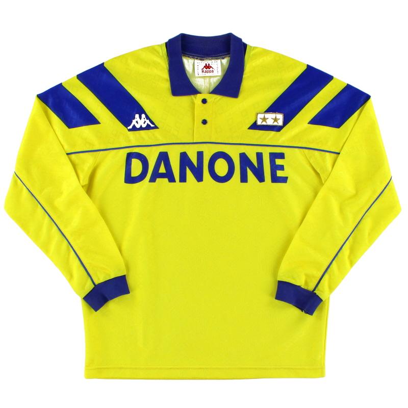 1992-94 Juventus Away Shirt L/S S