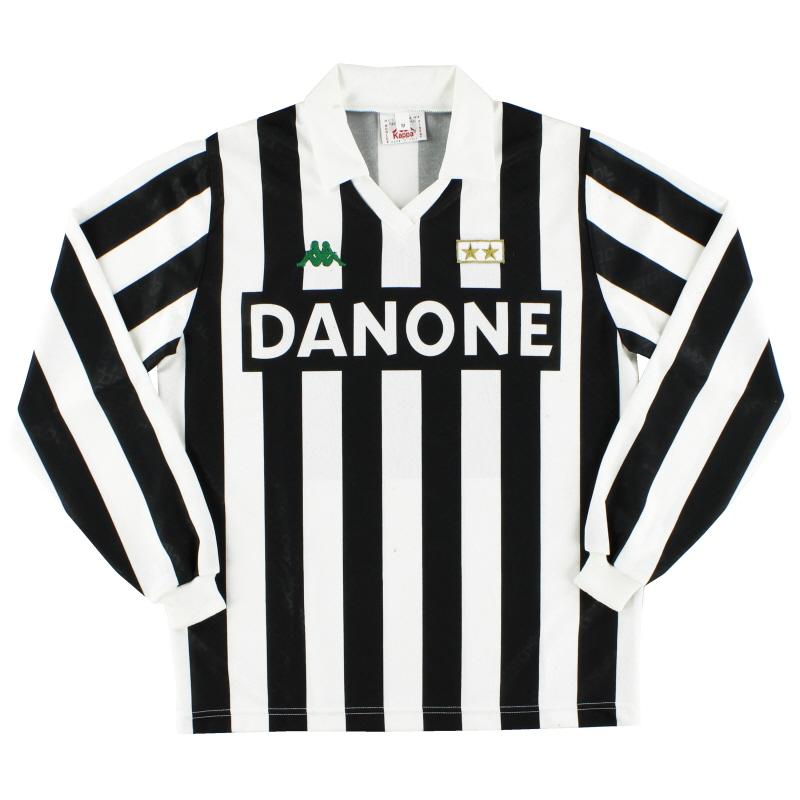 1992-94 Juventus Home Shirt #10 L/S M