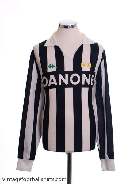 1992-94 Juventus Replica Home Shirt L/S *Mint* L